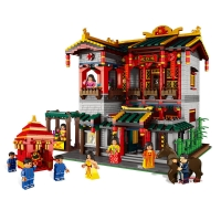china building toys 怡红院