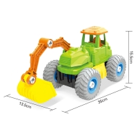 colorful truck toys car