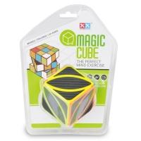 Educational plastic leaf magic puzzle cube
