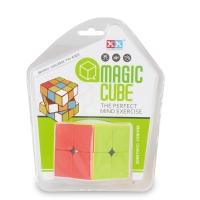 Plastic 2x2 magical cubes puzzle