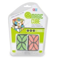 plastic sail magic puzzle speed flower cube