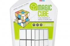 magic puzzle cube white