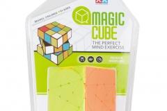 plastic sail magic puzzle speed 2x2 cube