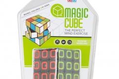 round Children Education Toys Plastic Magic Puzzle Cube