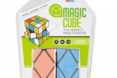 square Children Education Toys Plastic Magic Puzzle Cube