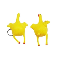 Chicken shape key chain squeeze