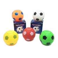 Football shape decompression fingertip toy