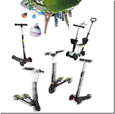 models of kick scooter