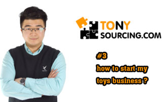 tony - how to start toys business.