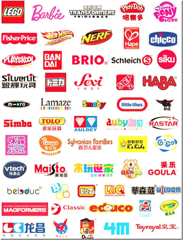toys brands