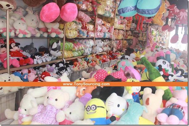 lingyi Yongxing plush toys market