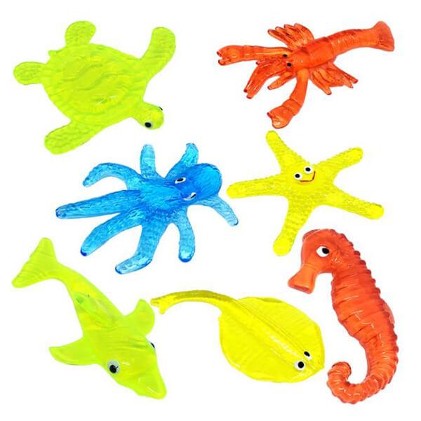 TPR toys sticky