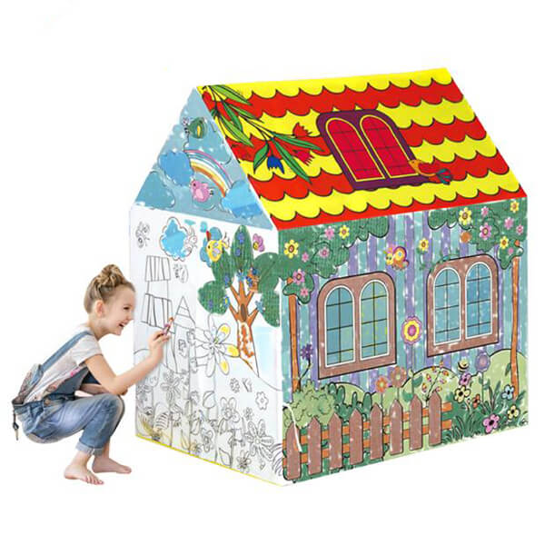 educational toys drawing house