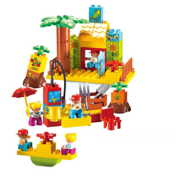 farm toys block set