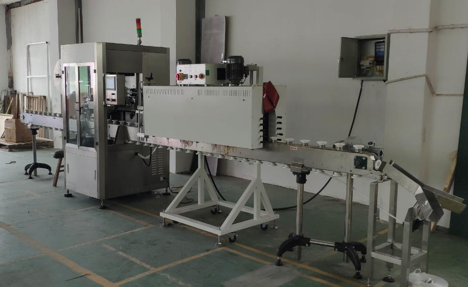 shrink wrapping machine for capsule toys