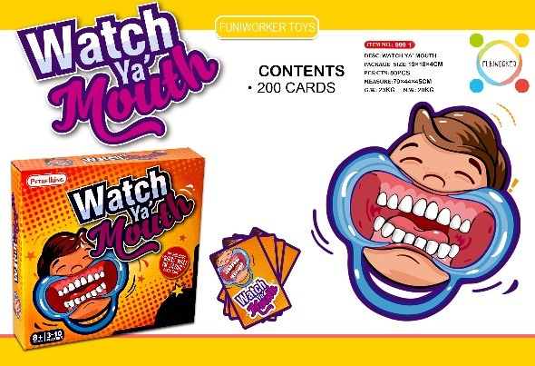 watch my mouth game