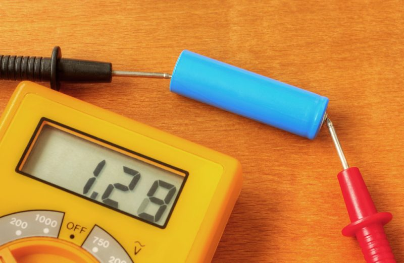 test battery MSDS