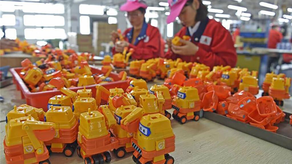 Shantou chenghai toys factory
