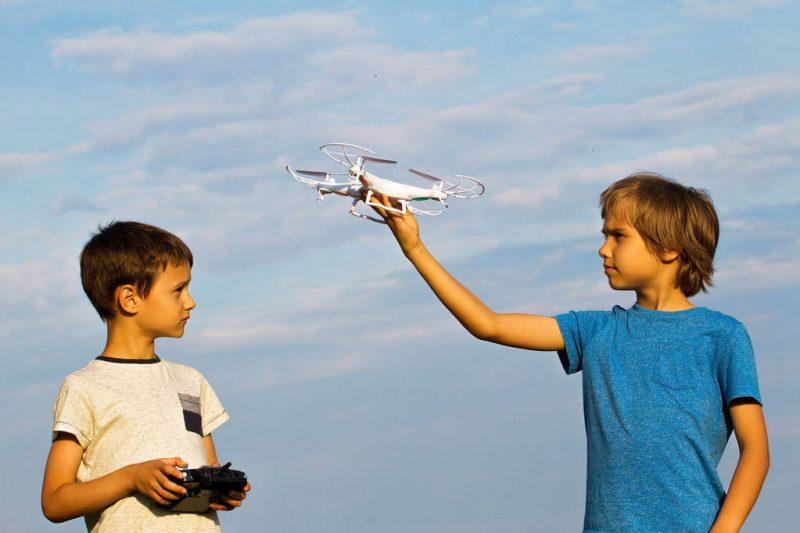 Drone kids Safty