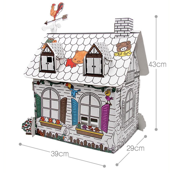 Painting House Toy